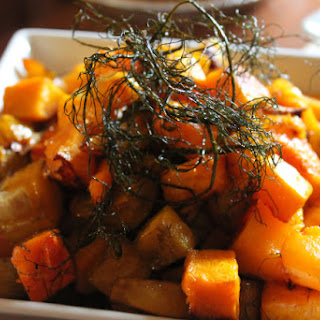 Roasted Butternut Squash, Golden Beets & Fennel.