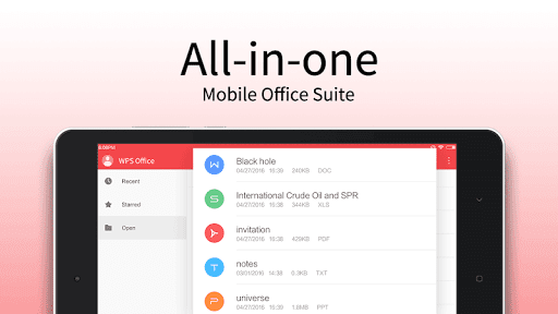 WPS Office - Word, Docs, PDF, Note, Slide & Sheet  screenshots 10