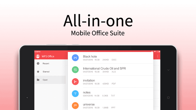 WPS Office - Word, Docs, PDF, Note, Slide & Sheet Screenshot 9