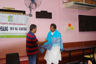 Photo: Felicitation by STS