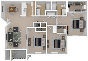 Go to St. Kitts Floorplan page.