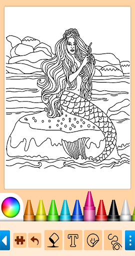 Coloring game for girls and women 13.9.6 screenshots 3