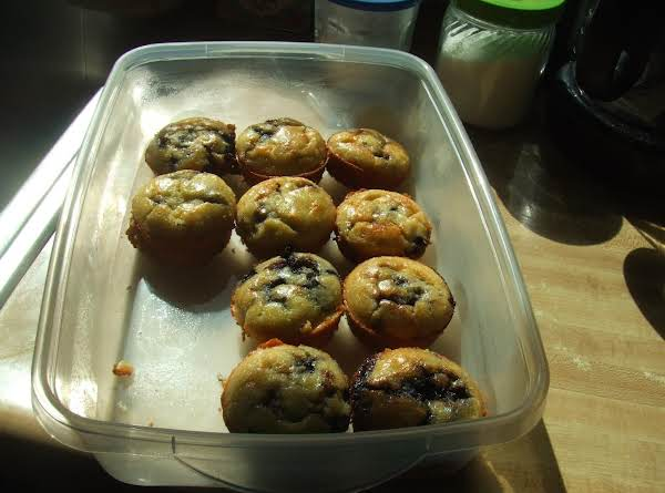 My Honey's Blueberry Almond Flour Muffins Recipe