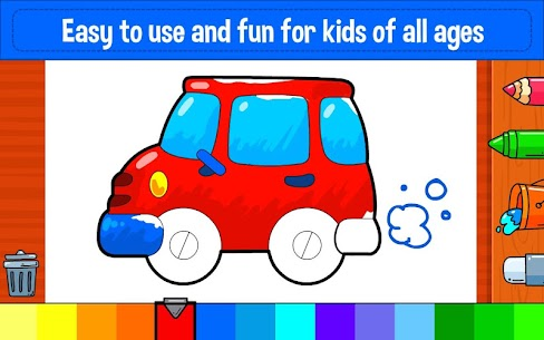Learning & Coloring Game for Kids & Preschoolers 3