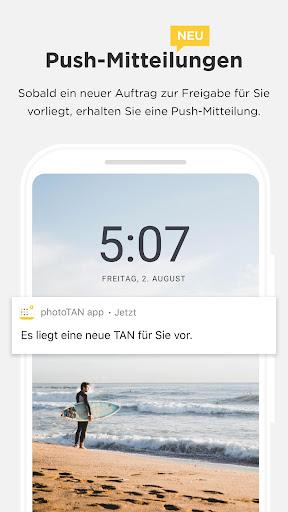 Commerzbank photoTAN  screenshots 3