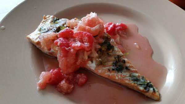 Grilled Salmon With Perfectly Pink Salsa Recipe