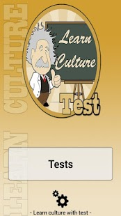 Learn culture with test- screenshot thumbnail