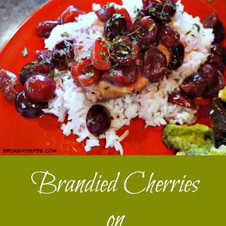 Brandied Cherries on Pork Loin - Leftovers.