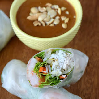 Vietnamese Spring Rolls With Meat Recipes.