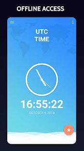 UTC Time & GMT Time - náhled