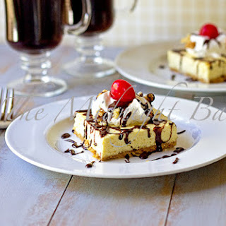 Banana Split Cheesecake Bars
