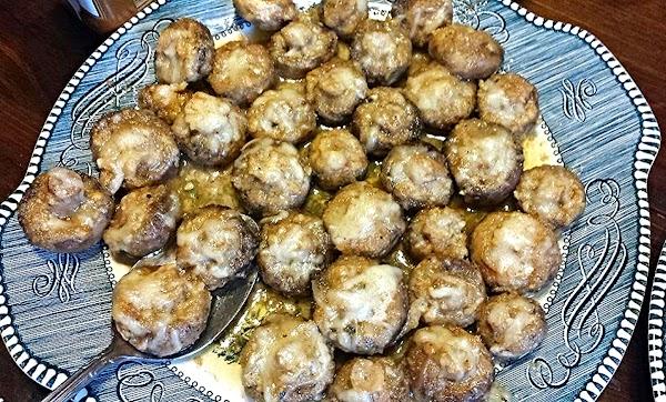 Garlic-swiss Mushrooms Recipe