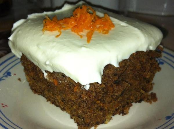 Spiced Carrot Cake Recipe