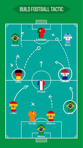 Football Squad Builder - Strategy, Tactic, Lineup 2.4.5 Screenshots 9
