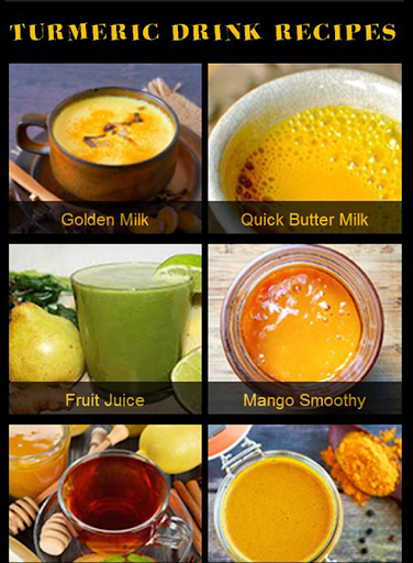 Turmeric Drink Recipes screenshot 1