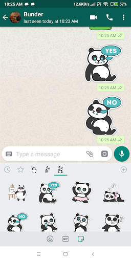 Cute Panda Sticker Pack - WAStickerApps New 1.0-release-first screenshots 8