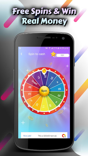 Spin for Cash: Tap the Wheel Spinner & Win it! 6.4 screenshots 2