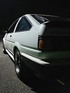カローラレビン AE86 1986年式  GTV のカスタム事例画像 げれげれさんの2018年09月17日20:16の投稿