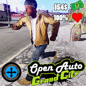 Open Auto Grand City Android APK Download Free By ActionCrab Games