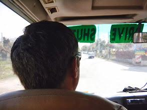 Photo: The Mr. rode shotgun! I had second seat shotgun.