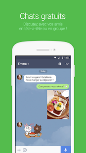 Line beta : free calls & chat - náhled