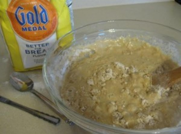 In a separate bowl, whisk together the sugar, pumpkin, oil, egg, and salt. Add...