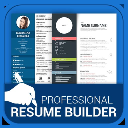 Professional Resume Maker Cv Builder Pdf Format Apk