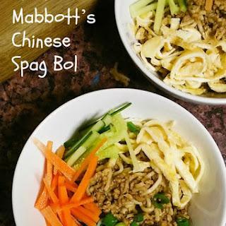 Lizzie Mabbott's Chinese Spag Bol