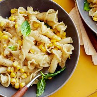 Brown Butter and Corn Pasta.