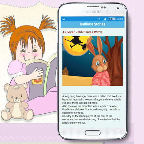 android Bedtime Stories For Kids Screenshot 3