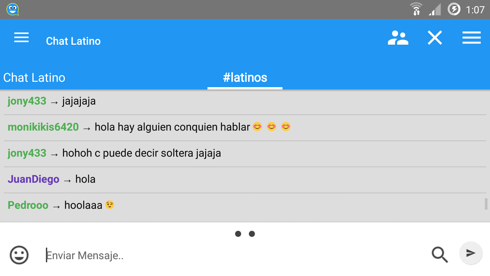 chat chat spanish