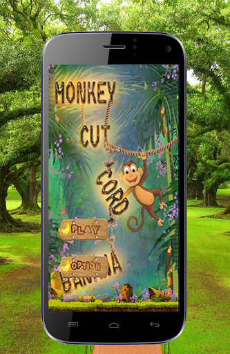 Monkey Cut Cord Of Banana