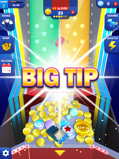 Tipping Point Blast! - Free Coin Pusher apkpoly screenshots 9