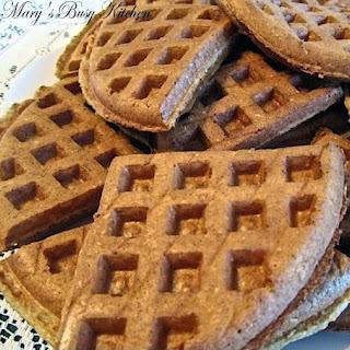 Oat Banana Waffles – a gluten, dairy, & egg free.