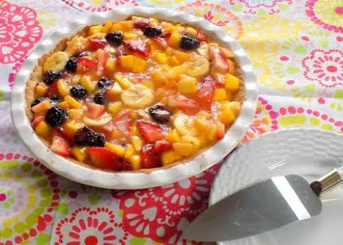 """Fresh Fruit Pie""""Passed down over years, you can use almost any fruits..."""