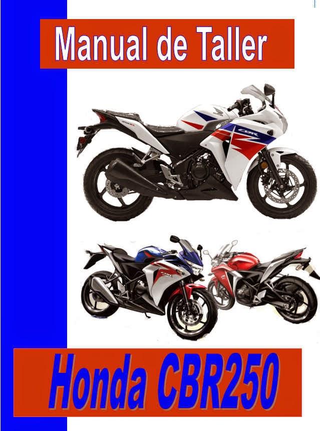 Honda CBR 250 RR  manual-taller-servicio-despiece