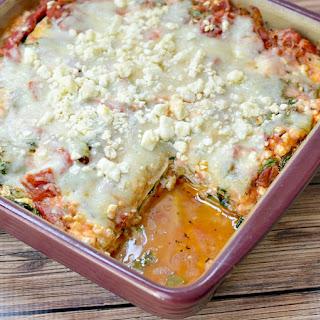 Zucchini Lasagna No Noodles Vegetarian Recipes.