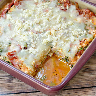 Vegetarian Zucchini Lasagna.