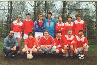 Photo: H.M.S.H. 8 seizoen 1997 - 1998