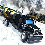 Army Oil Truck Hill Transport Icon