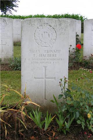 Thomas  Halbert grave