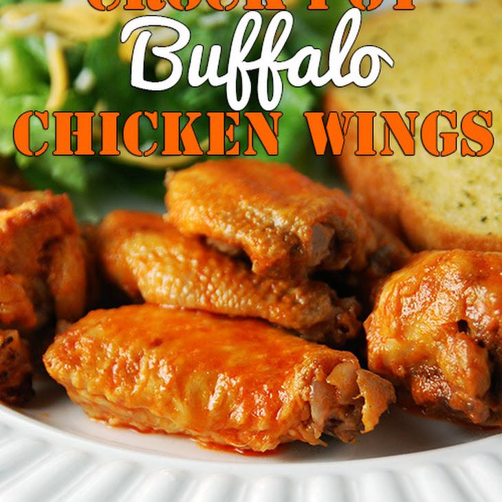 Crock Pot Buffalo Chicken Wings Recipe