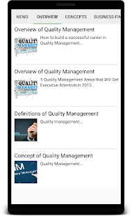 Quality Management - náhled