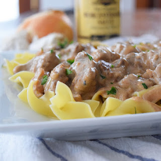Beef Chuck Steak Stroganoff Recipes