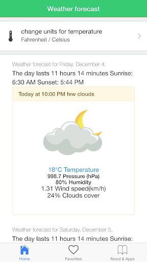 玩天氣App タイの天気、予報免費 APP試玩