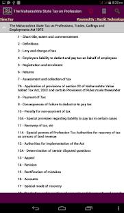Maharashtra State Tax Act 1975 - náhled