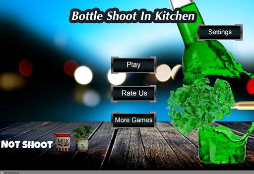 Bottle Shoot In Kitchen