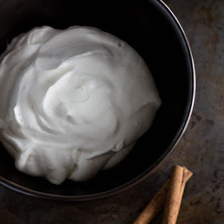 Cinnamon-Infused Whipped Cream