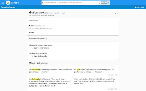 Albanais-Français Dictionnaire - náhled