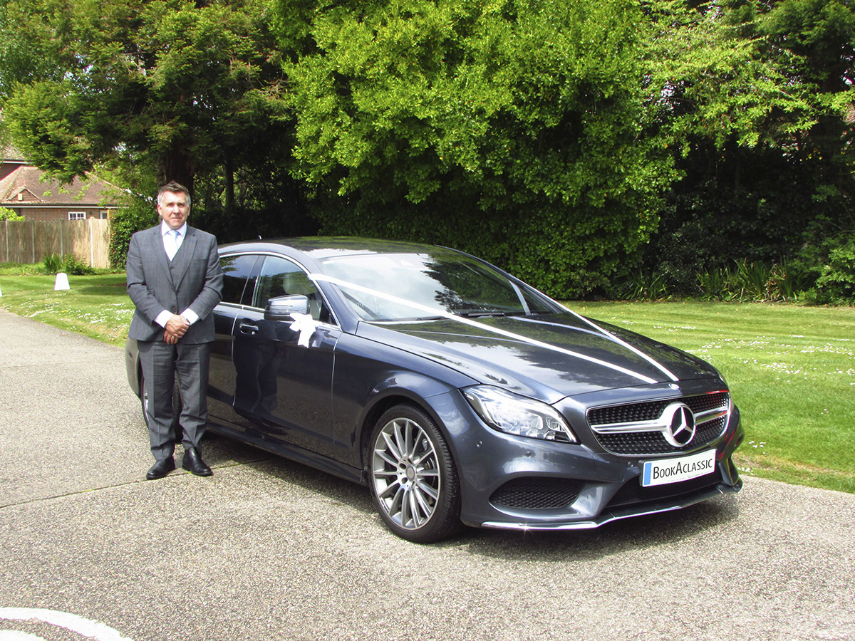 Mercedes-Benz Cls Shooting Brake Hire Littlehampton